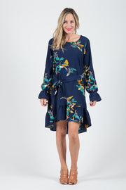 Madison Dress - Navy Floral