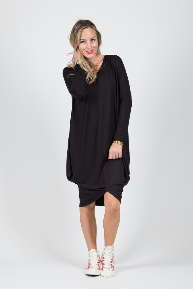 Foxglove Dress - Black