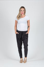 Jessica Pants - Thin Stripe Pocket