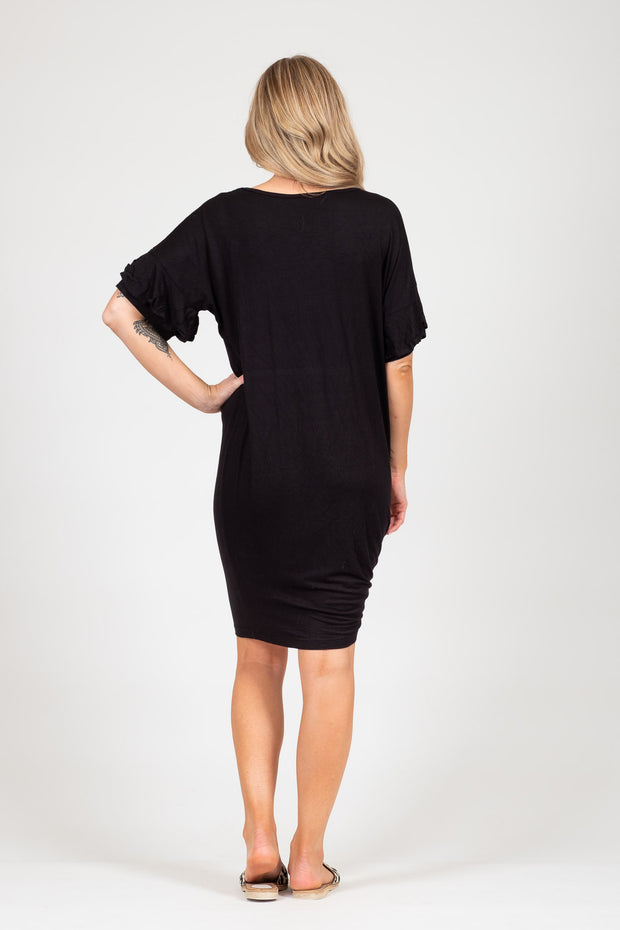 Camellia Dress - Black
