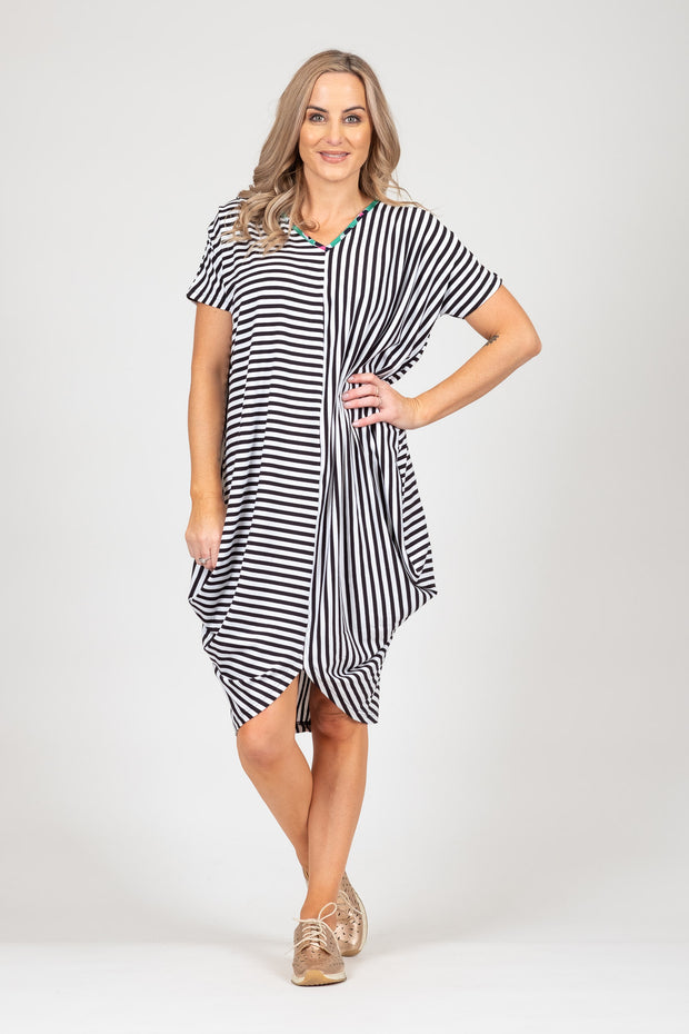 Foxglove Dress - Stripe