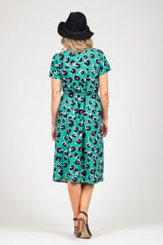Janey Dress - Animal Print