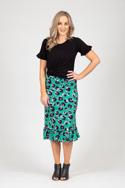 Barry Skirt  - Large Animal Print