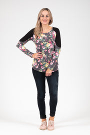 Bailey Top - Floral