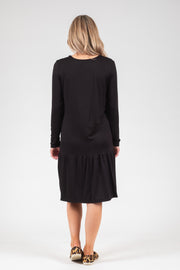 Kowhai Dress - Black