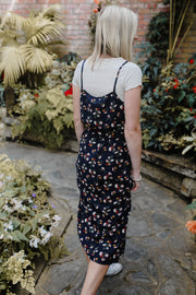 Meadow Dress - Navy Floral