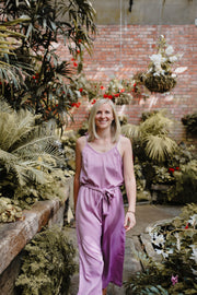 Poppy Jumpsuit - Lilac