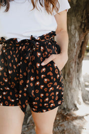 Ted Shorts - Black Animal