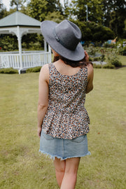 Maeve Top - Animal Print