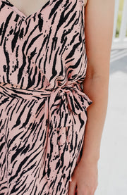 Meadow Dress - Pink Animal