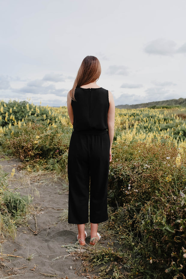 Daisy Jumpsuit - Black