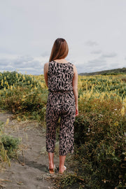 Daisy Jumpsuit - Animal