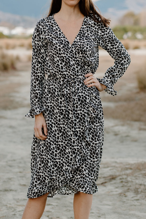 Millicent Dress - Animal