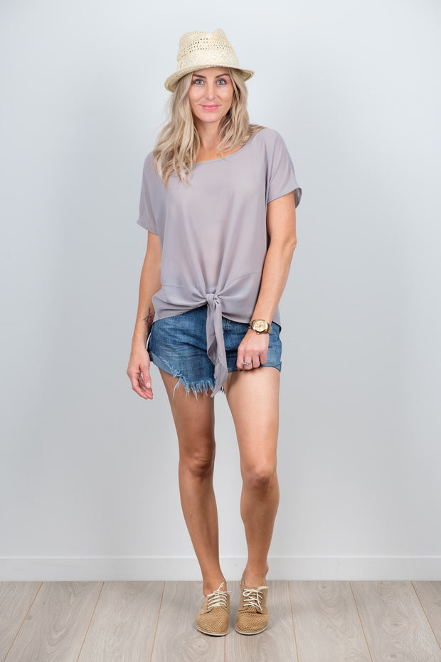Grey Beau Top from White Chalk Ltd