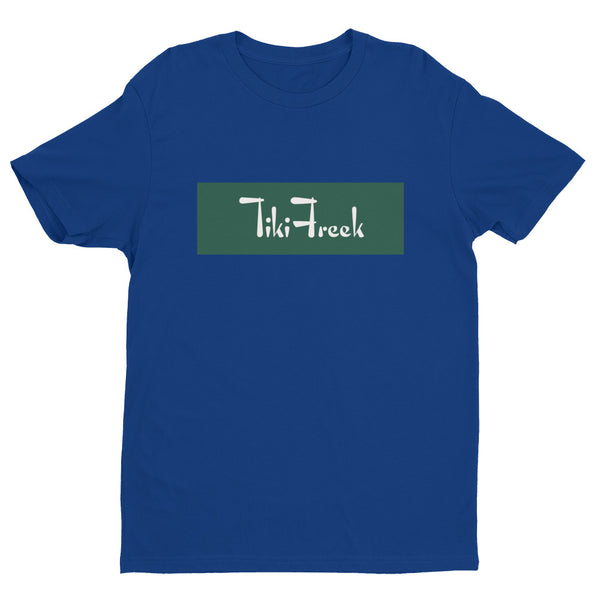 TikiFreek Box Logo Short Sleeve T-shirt Green