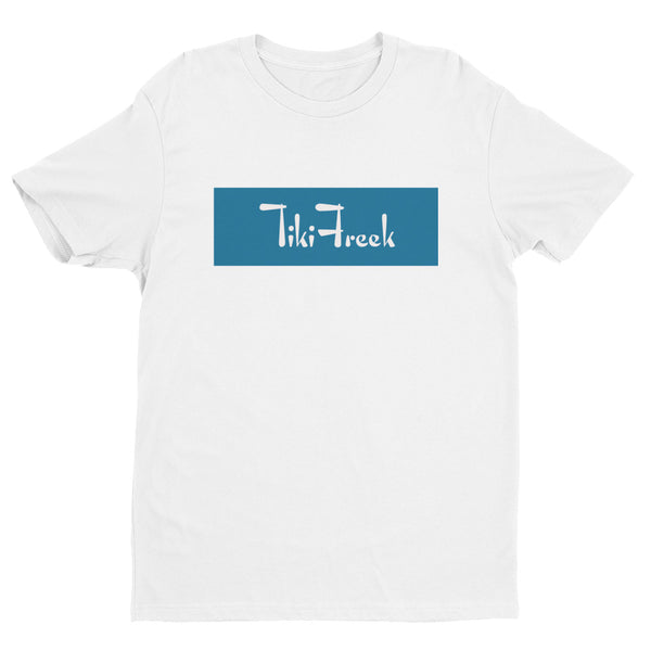 TikiFreek Box Logo Short Sleeve T-shirt Blue