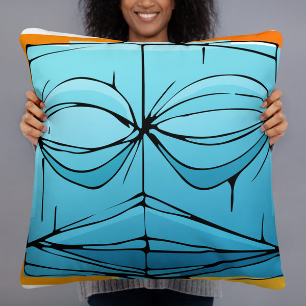 Bobby Doran Tiki Basic Pillow
