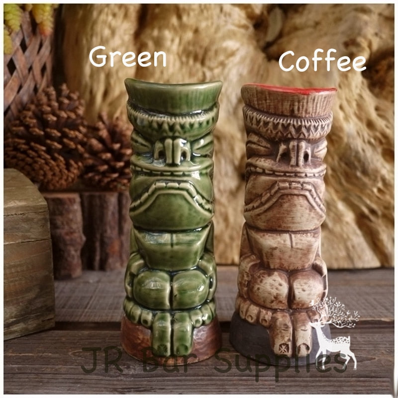 Tiki Mugs Creative Hawaii