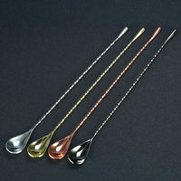 Stainless Steel Mixing Cocktail Spoon
