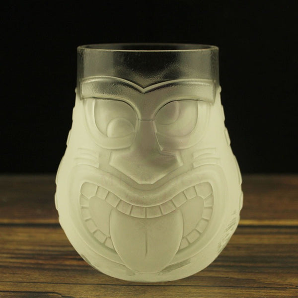 Frosted Tiki Glasses  - Multi - TikiFreek