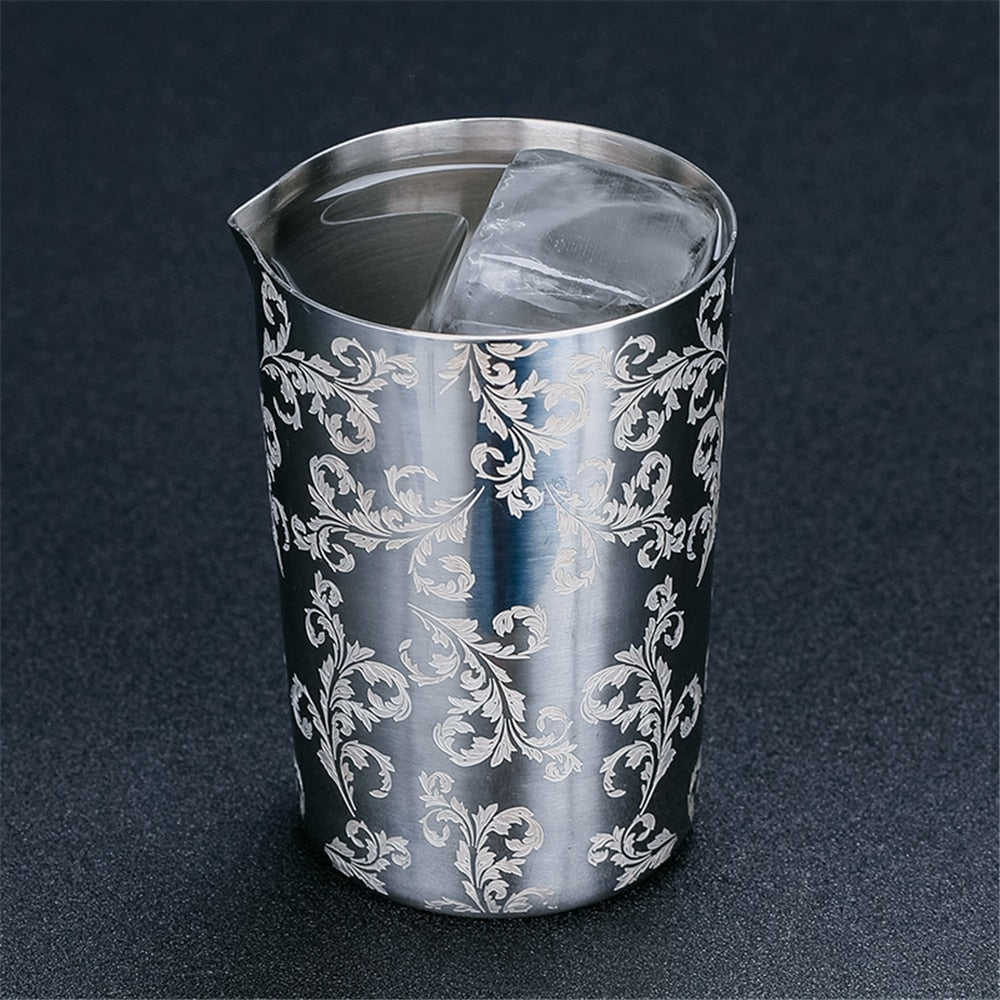 Stainless Steel Stirring Tin 500ml Mixing Glass