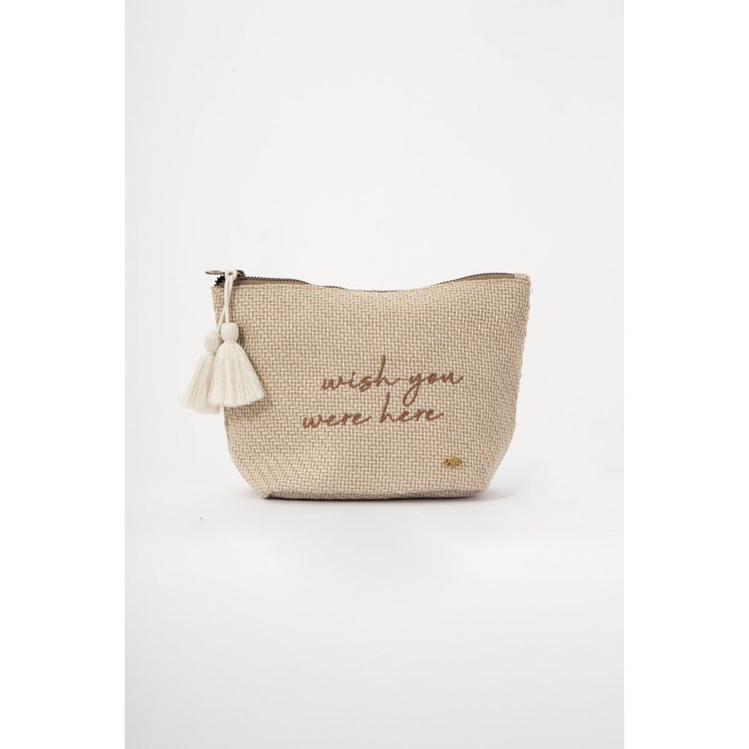 Wish You Were Here Pouch
