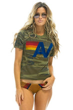 Load image into Gallery viewer, WOMEN'S LOGO BOYFRIEND TEE - CAMO