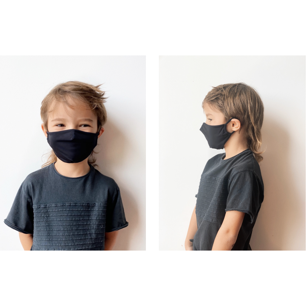 BLACK KIDS MASK / NO MEDICAL