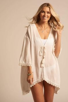 Paradise Open Front Cardigan