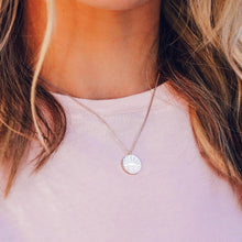 Load image into Gallery viewer, Sunrise To Sunset Necklace Rose Gold