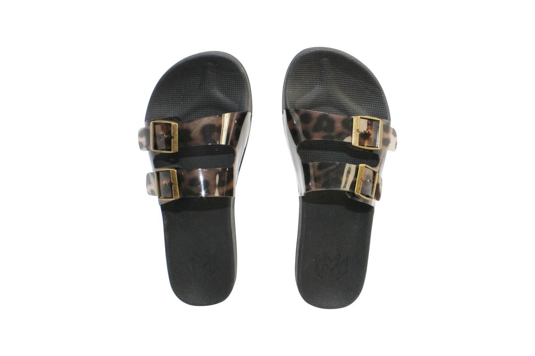 Slaya Ozzy Leopard Slip On
