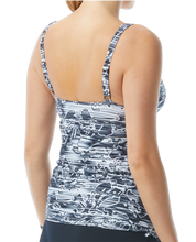 Load image into Gallery viewer, Lucid Square Neck Tankini W/Skirt