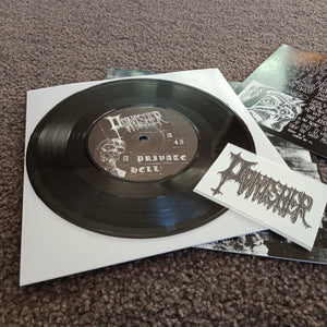 "Pvnisher - A Private Hell / Living In A Broken Skin (7"")"