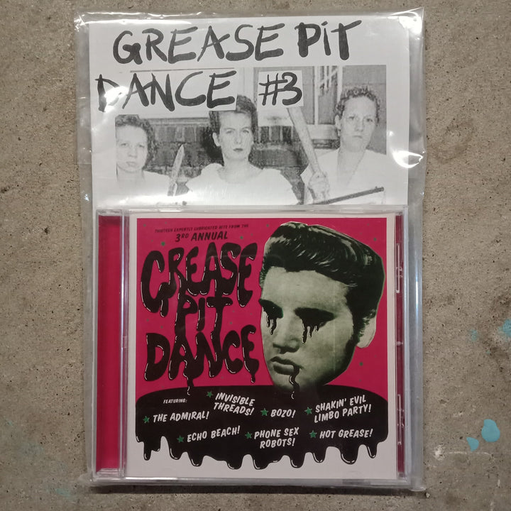 Various Artists - Grease Pit Dance 3 (CD-R + Zine)