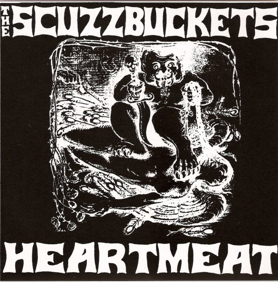 "Scuzzbuckets, The - Heartmeat (7"" EP)"