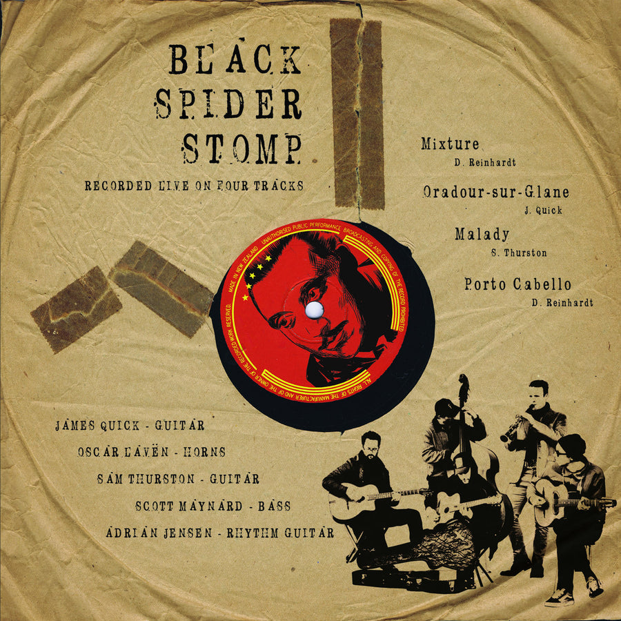 Black Spider Stomp - Black Spider Stomp (EP)