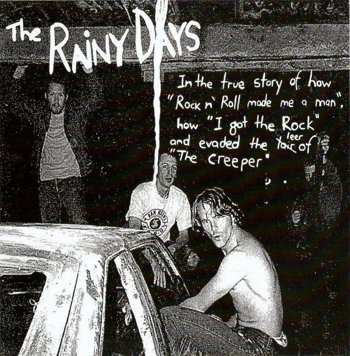 "Rainy Days, The - Rock'n'Roll Made Me A Man (7"" EP)"