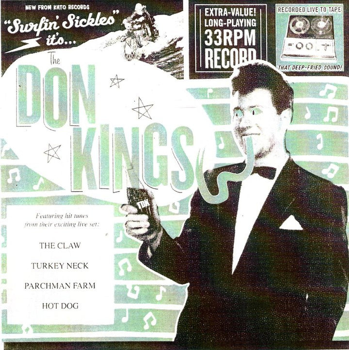 "Don Kings, The - Surfin' Sickles (7"" EP)"