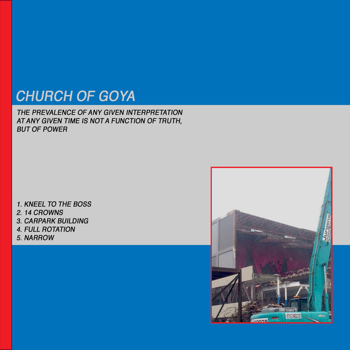Church of Goya - Church of Goya (CS EP)