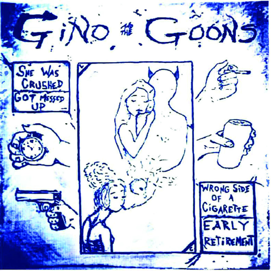 "Gino and The Goons (US) - She Was Crushed (7"" EP)"