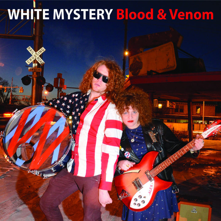 White Mystery (US) - Blood & Venom (LP)