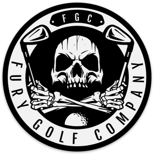 Fury Golf Assorted Sticker Pack