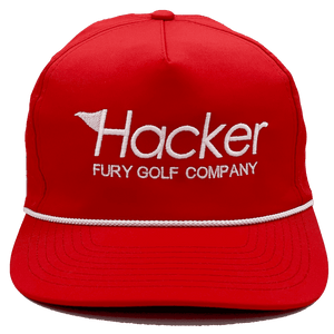 Hacker Rope Hat (Red)