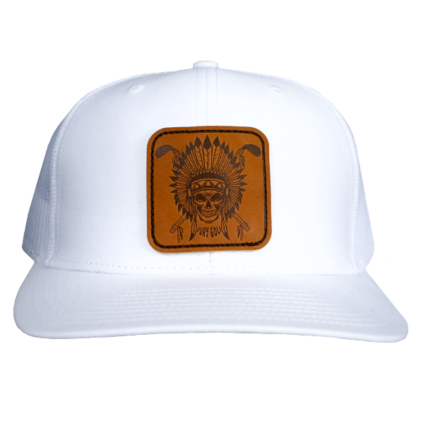 Skull Chief Patch Hat