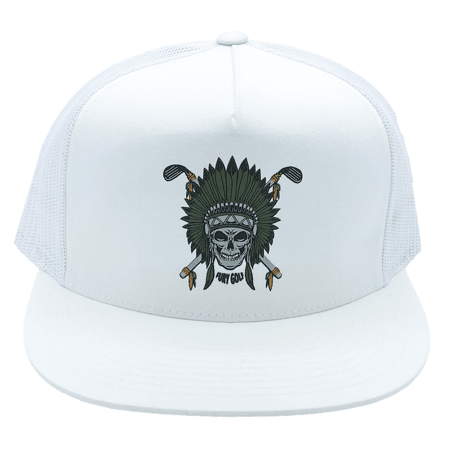 Skull Chief 5-Panel Trucker Hat