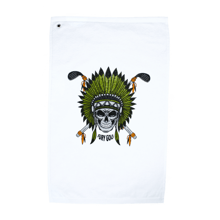 Skull Chief Golf Towel