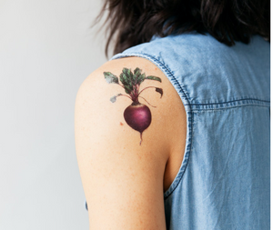 Tattoos - set de 8 légumes
