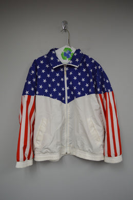 Vintage Stars and Stripes Windbreaker