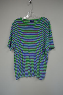 Terry Cloth Striped Tee