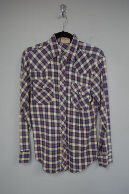 Snap Front Western Flannel